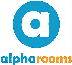 Alpharooms logo